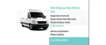 Rob Original Man with A Van
