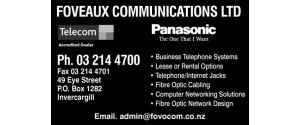 Foveaux Communications