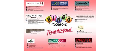 Bingo Night Sponsors