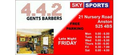 4-4-2 Barbers Shop