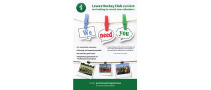 Junior Volunteers Required
