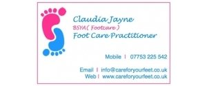 Claudia Jayne Foot Care Practitioner