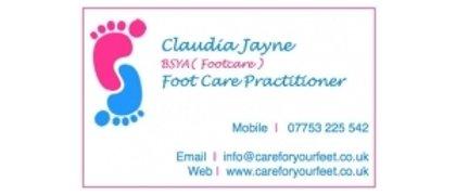 Claudia Jayne Foot Care Practitioner