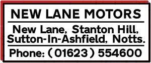 New Lane Motors