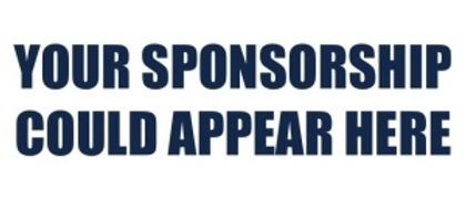 Your Sponsorship Could Appear Here