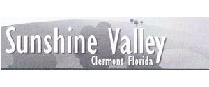 Sunshine Valley, Clermont Florida