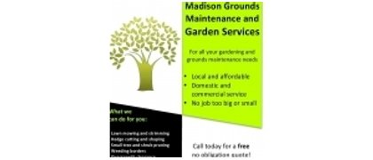 Madison Grounds Maintenenance & Garden Services