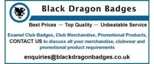 Black Dragon Badges