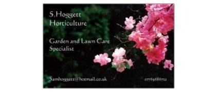 S. Hoggett, Horticulture