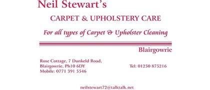 Neil Stewart - Carpet Care