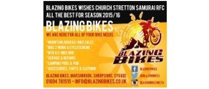 Blazing Bikes