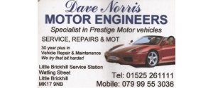 Dave Norris Motor Engineers