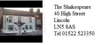 Shakespeare 100 Club Member