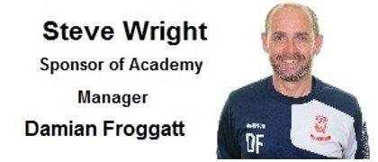 Steve Wright 2 Academy Manager Sponsor