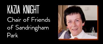 Kazia Knight - Chair of Friends of Sandringham Park