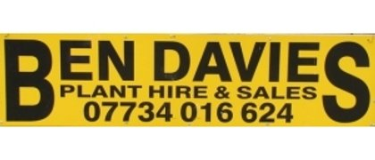 Ben Davies Plant Hire and Sales