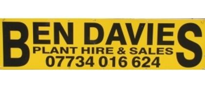 Ben Davies Plant Hire and Sales