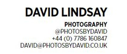 David Lindsay - Photographer