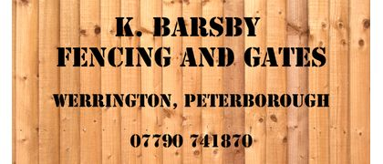 K Barsby Fencing and Gates