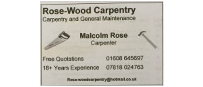 Rose-Wood Carpentry