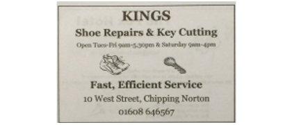 Kings Shoe Repairs & Key Cutting