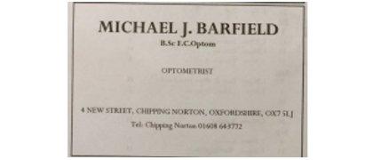 Michael J. Barfield Opticians