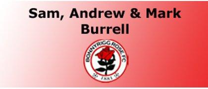Sam, Andrew & Mark Burrell