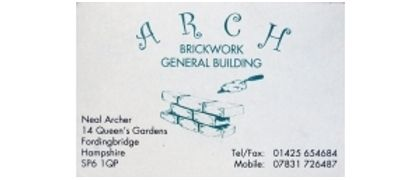 Arch Brickwork & General Building