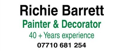 Richie Barrett Painter & Decorator