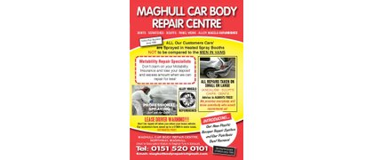 Maghull Car Body Repair Centre