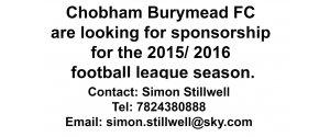 Sponsor Burymead FC