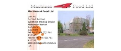 Machine 4 Foods