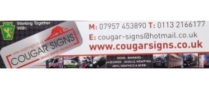 COUGAR SIGNS