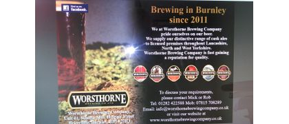 Worsthorn Brewery