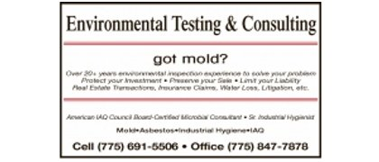 Environmental Testing & Consulting