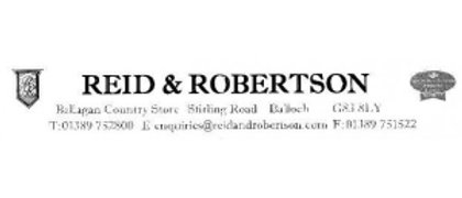 Reid and Robertson