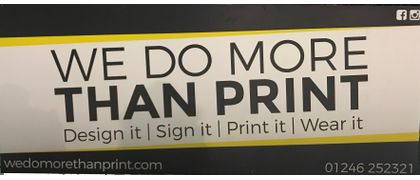 We Do More Than Print