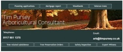 Tim Pursey Arboricultural Consultant