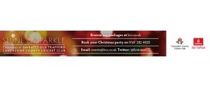 Shine & Sparkle - Book your Xmas Party at The Emirates Old Trafford