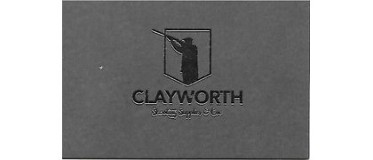 CLAYWORTH SHOOTING SUPPLIES