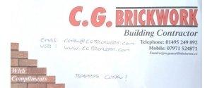 CG Brickwork
