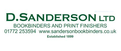 Dan Sanderson Book Binders and Print Finishers