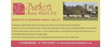 Barker's animal health