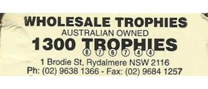 Wholesale Trophies