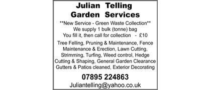 Julian Telling Garden Services