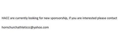 No Sponsor