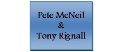 Pete McNeil and Tony Rignall