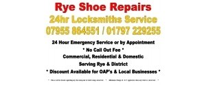Rye Shoe Repairs & 24Hr Locksmiths