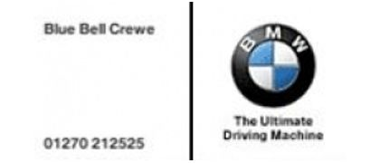 Bluebell  Crewe BMW