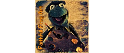 Faithful Frog Art